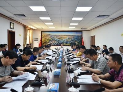 陈俊钦主持召开市委政法委委务会议:推动苏区老区加快振兴发展