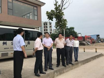 韩小林到梅县区新城办事处调研督导创文工作