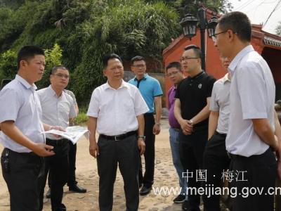 朱国城率队调研市区重点招商引资项目:全力以赴支持重点项目建设