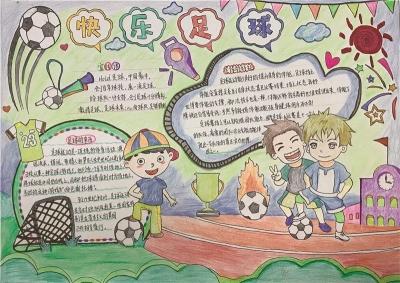 """阳光、活力...这些都是孩子们心目中的""""快乐足球""""!"""