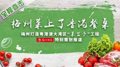 """直播回顾丨梅州菜是如何端上香港餐桌的?一起来看梅州打造粤港澳大湾区""""菜篮子""""工程特别策划报道"""