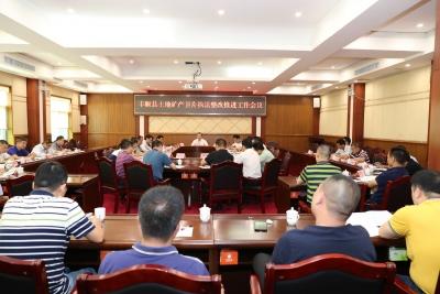 丰顺县召开土地矿产卫片执法整改推进工作会议