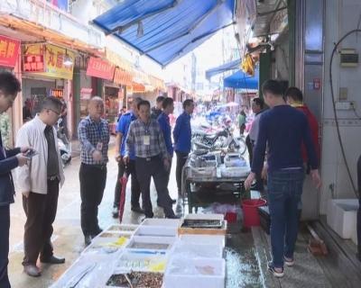 丰顺县城管执法大队开展市容市貌集中整治