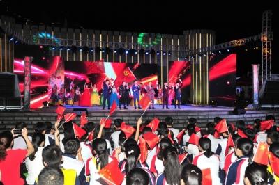 歌舞升平话盛世 红色土地谋振兴!他们这样庆祝五华解放70周年