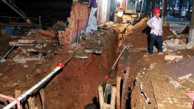 追踪丨梅城天然气主管道被钻破不止一处,正常通气时间仍未定