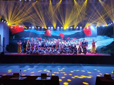 凝聚奋进力量!五华举办庆祝建党98周年文艺晚会