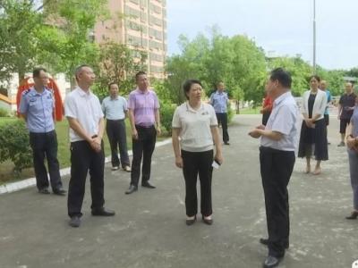 蕉岭副县长吴丽丽率队检查2019年中考准备工作