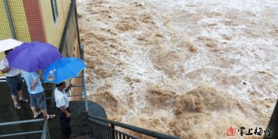 紧急!未来八小时内,梅州四条河流将出现超警戒水位