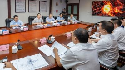 张爱军会见中国一冶集团考察组:创新合作模式推动项目落地建设