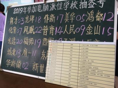 """梅江区2019年""""小升初""""电脑派位名单公布,查询方式看这里"""