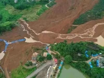 贵州水城特大山体滑坡已搜救出遇难人员38人,失联13人