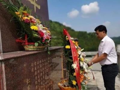 钟光灵到梅南镇调研时强调:激活红色资源 打造特色产业 助推绿色发展