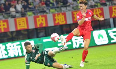 """2019赛季中甲联赛赛程过半,来看梅州双雄的""""成绩单"""""""