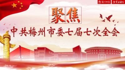 直播回顾丨关注!中共梅州市委七届七次全会今日召开