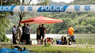 一男子在梅城泮坑水库游泳溺亡...
