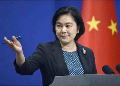 """华春莹驳香港""""民阵""""言行:企图挑动外部势力干预香港事务"""