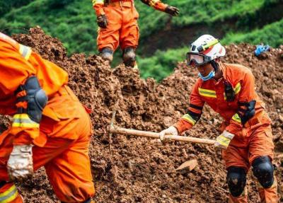 """贵州水城""""7.23""""特大山体滑坡已搜救出遇难人员36人,失联15人"""