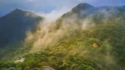 每日一景丨奇峰胜景王寿山 好一派人间仙境