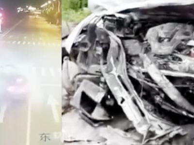 河南永城女子醉驾玛莎拉蒂致2死 肇事车内3人身份曝光