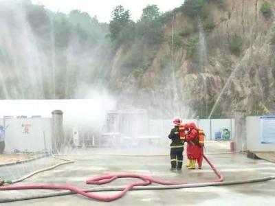 防范风险保安全!大埔开展天然气泄漏事故应急救援演练活动
