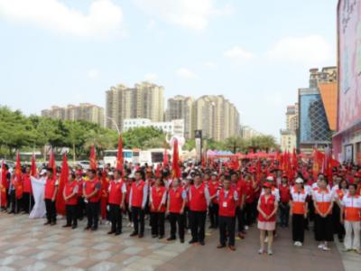 梅县成立爱心商家联盟,致敬志愿者!