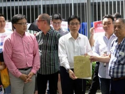 """香港市民发起""""我要食饭""""行动:停止暴乱,让大家安居乐业"""