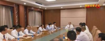 大埔县领导参加大埔县委十二届八次全会分组讨论
