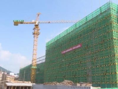 蕉岭县人民医院迁建工程建设得怎样了?来看…