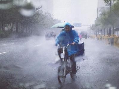 """台风""""白鹿""""减弱消失!今日梅州有阵雨给你降温"""