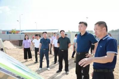 熊锋松调研韩江高陂水利枢纽工程征地拆迁和移民安置工作