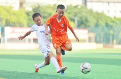 伊利·客家杯U11组比赛落幕,山东鲁能夺得冠军