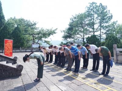 东莞市考察团到梅州调研红色资源保护利用