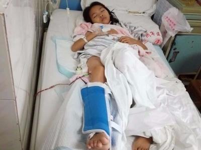 收到爱心款约10万元!本报救助对象邓惠婷入院准备手术
