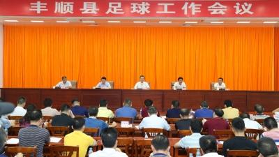 丰顺召开足球工作会议:为梅州创建中国足球特区贡献丰顺力量