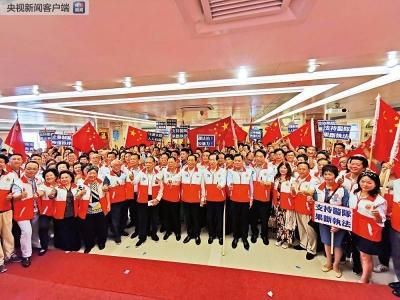 """香港福建社团誓师:坚决向暴力说不 汇聚正能量 捍卫""""一国两制"""""""