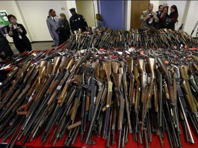 中国人权研究会发表文章揭露美国枪支暴力严重践踏人权
