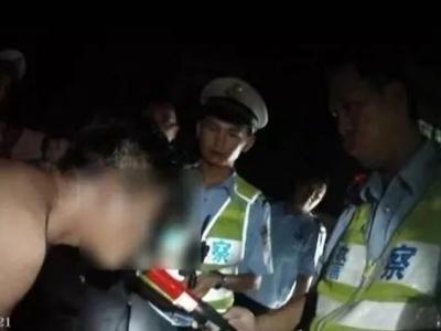 梅县一男子酒驾遇检查后,竟做出惊人操作...刑拘!