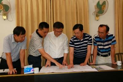 省委党校常务副校院长杨汉卿率队到兴宁调研