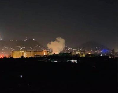 """""""9·11""""18周年纪念日当天,美国驻阿富汗大使馆附近爆炸"""