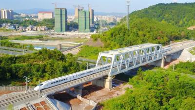 梅州V视丨通车倒计时!梅汕高铁今天开始试运行