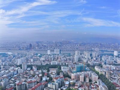 """今年1至9月梅州环境空气质量优良率99.6%,""""梅州蓝""""你感受到了吗?"""