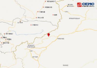 新疆乌什发生5.0级地震