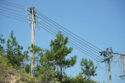 五华两条线路改造投运,惠及棉洋6万群众用电
