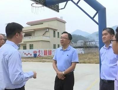 温向芳到平远县调研中小河流治理工作和省级现代农业产业园建设情况