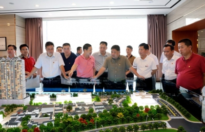吴晖调研城市建设重点项目推进情况:加快老城改造 实现提质增效