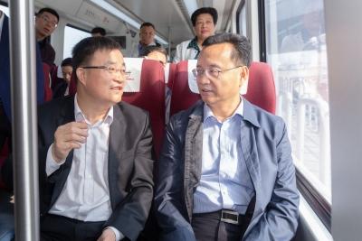 张爱军率队到湖南省长沙市考察:谋求引进高端项目 助推梅州高质量发展