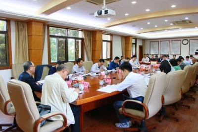 兴宁市委市政府领导班子成员就主题教育调研成果进行交流