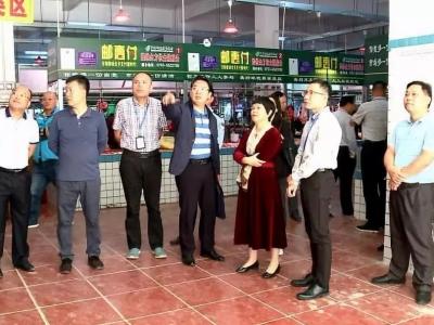 梅州市整治食品安全问题联合行动工作组到大埔开展督导检查