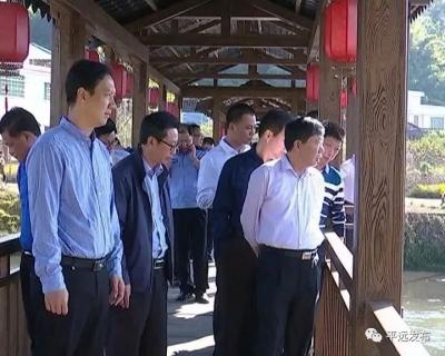 宋才华调研中小河流治理和省级现代农业产业园建设等工作