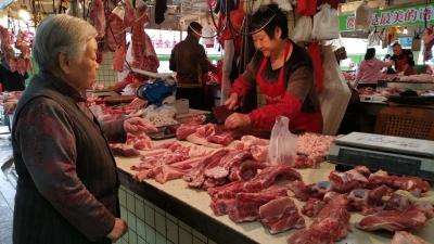 梅城猪肉降价了!明年供应更充足,来看记者走访…